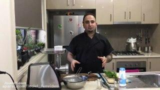 آشپزی با جواد جوادی قسمت ۹۴ کوبیده مرغ و ریحون