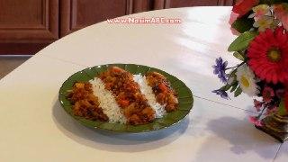 آشپزی سویا پلو با برنج غذای سالم گیاهی