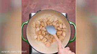 آشپزی پاستای بروکلی و جامبالیا
