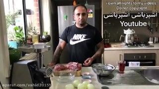 آشپزی کباب کوبیده حرفه ای
