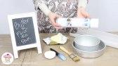 آماده کردن قالب شیرینی پزی