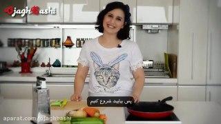اسپرینگ رول سبزیجات