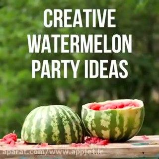 اموزش ویدیویی ۲۸ ترفند و ایده خلاقانه برای غذا ها