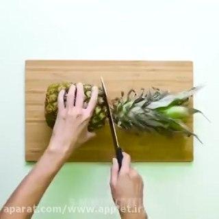اموزش ۲۲ ترفند برای برش دادن میوه ها در یک ویدیو