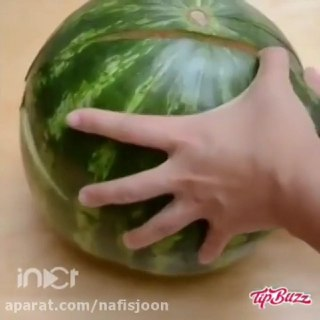 ایده بسیار جالب با میوه ها