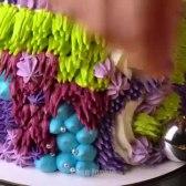 ایده های تزیین کیک رنگین کمانی برای مهمانی