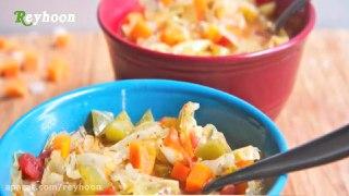 با سوپ کلم ۵ کیلو در ۷ روز لاغر شوید