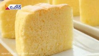 به راحتی کیک اسفنجی کره ای درست کنید