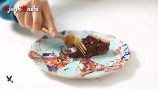 تارت شکلات و انار دسر فوق العاده شب یلدا