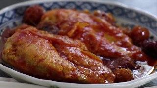 ترین خوراک مرغ آلو