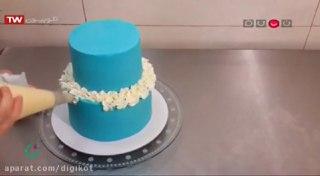 تزئین کیک عروسی