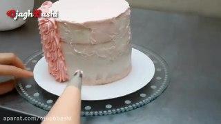 تزیین زیبای ۳ مدل کیک