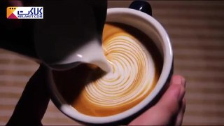 تزیین قهوه لاته بخش سیزدهم
