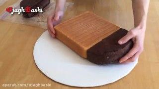 تزیین کیک مدل قلب