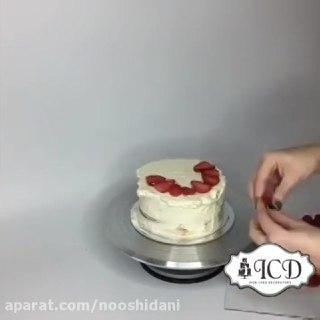 تزیین کیک های سه بعدی و زیبا ۳