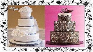 تصاویری از زیباترین کیک های عروسی