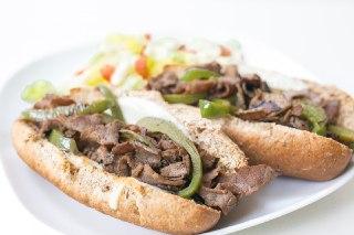 تصویر  ساندویچ رست بیف