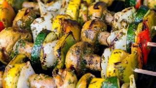 تصویر سبزیجات کبابی