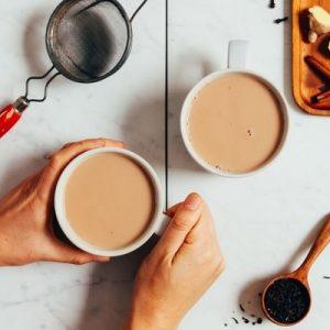 تصویر سرو چای ماسالا