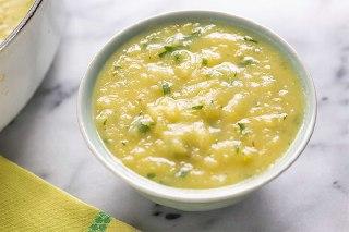 تصویر سوپ تره فرنگی برای سرماخوردگی