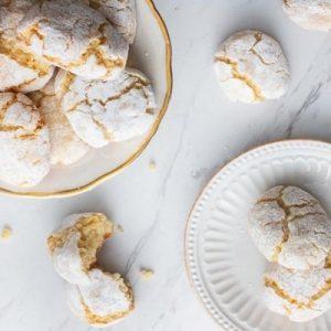تصویر  شیرینی بادامی ایتالیایی