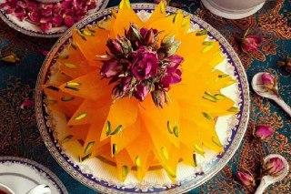 تصویر مسقطی زعفرانی افطار