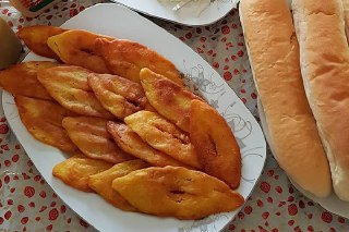 تصویر کتلت سیب زمینی شیرازی فست فودی