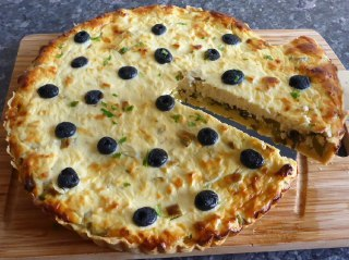 تصویر کیش کدو پنیری