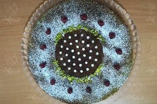 تصویر کیک اسفناج زیبا