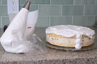 تصویر کیک بستنی ساده مراحل