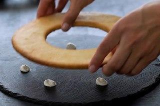 تصویر کیک سابله مرحله سیزدهم