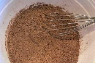 تصویر کیک شکلاتی تلخ