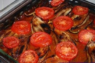 تصویر گوجه و بادمجان