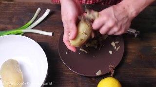 تن ماهی و سیب زمینی له شده