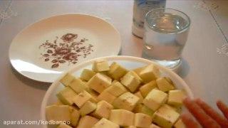 ته چین بادمجان با سویا