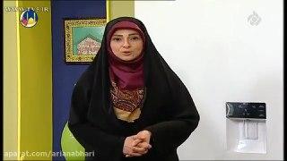 خانم حسینی اموزش سوپ جو با قارچ کرم قارچ