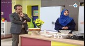 خانم محمدلو اموزش کیک با روکش نارگیل