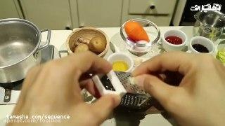 خوراک جوجه ژاپنی کوچولو