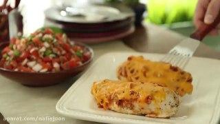 خوراک مرغ مکزیکی
