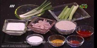 خوراک میگوی تندوری