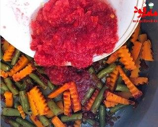 خوراک کوفته قلقلی با سبزیجات