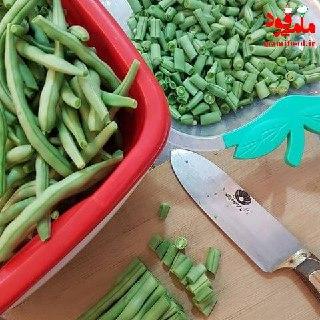 خورشت لوبیا سبز