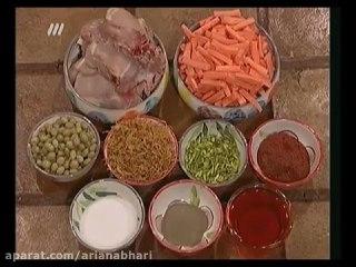خورش هویج و پسته سمنانی