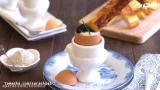 دستورالعمل یک صبحانه تخم مرغی
