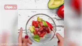 دستور چند غذاهای رژیمی با میزان کالری مشخص