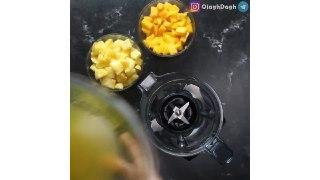 دسر سوربه آناناس انبه