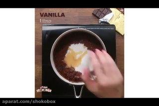 دونات شکلات خانگی آسان بدون گلوتن