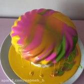 دیزاین و تزیین کیک در ۱ دقیقه