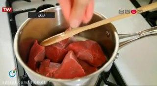 رولت مکزیکی گوشت
