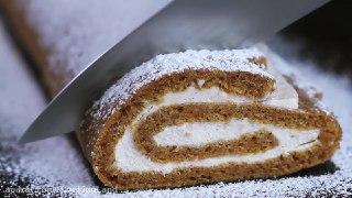 رول کیک هویج